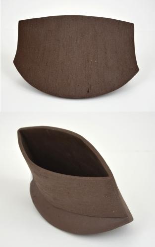 Oblong Vase Renbrown