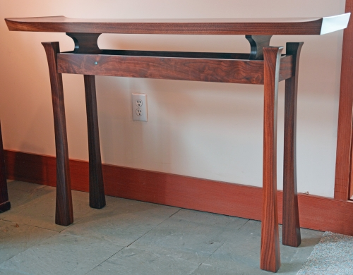 Entry Table  Black Walnut: Sold