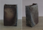 Ember Buried Rectangular Vessel -- sold