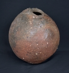 Ember Buried Abstract Vessel--sold