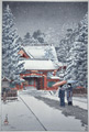 Snow at Hie Shrine - sold