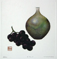 F.P - 1 (Tokkuri & Grapes) -SOLD