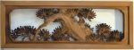 Ranma - Japanese Pine Transom - sold