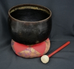 Bronze Gong Set, large #1644 -- sold