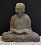 Stone Monk - seated