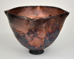Raku four-corner copper Bowl
